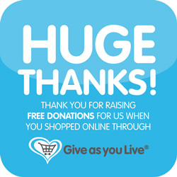 donate through give-as-you-live