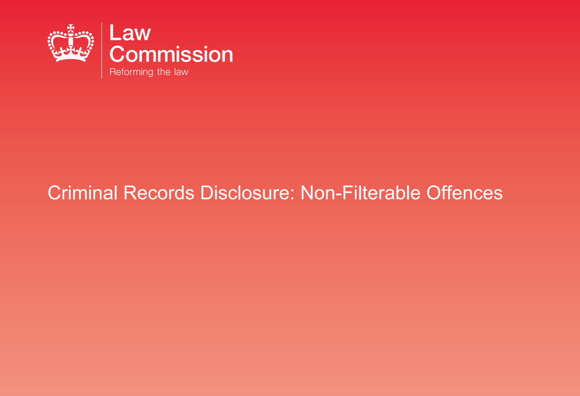 Unlock responds to Law Commission review of DBS filtering